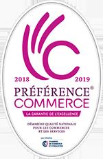 Préférence Commerce 2017-2018