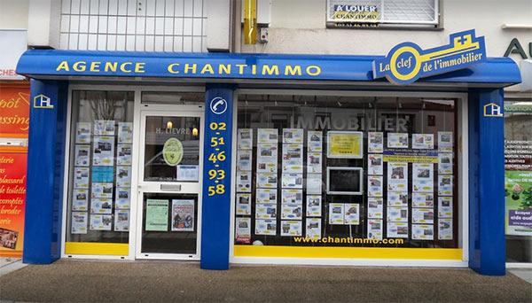 Agence Chantimmo pour vente maison à Fontenay le Comte