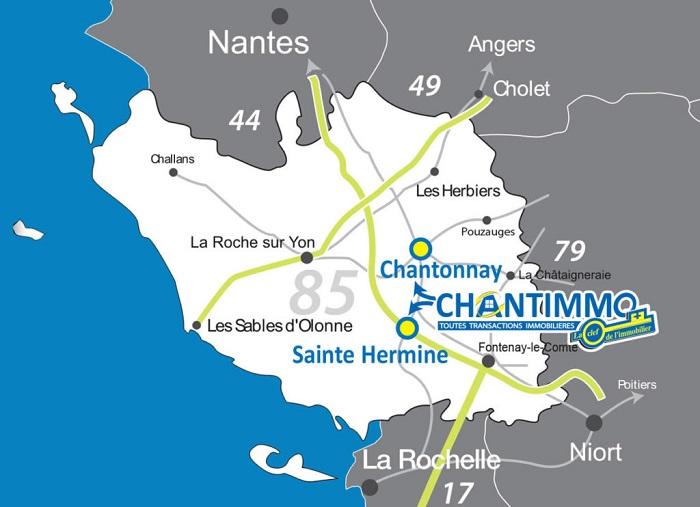 Chantimmo agence immobilière en Vendée